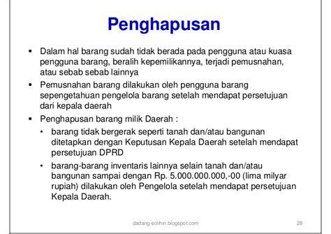 kebijakan manajemen asset daerah
