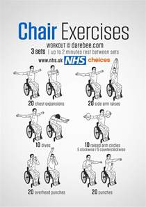 exercise desk chair free workouts live well nhs choices