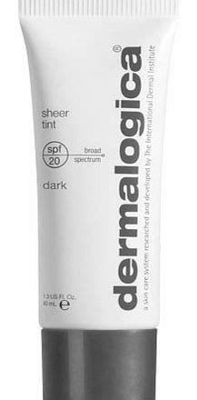 dermalogica sheer tint light dermalogica sheer tint moisture spf20 dark review