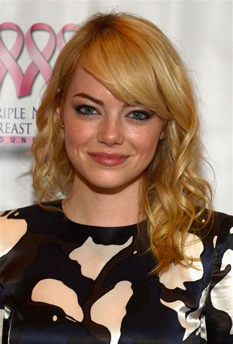 2016 emma stone hair color trends strawberry hair color by celebrities page 2 best hair