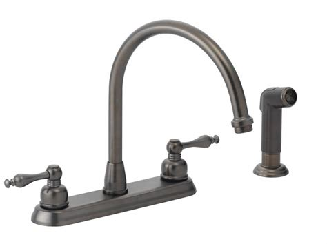 high rise kitchen faucet flo faucets f8f11028rl handle hi rise