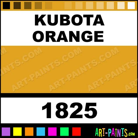 kubota orange farm and implement spray paints 1825 kubota orange paint kubota orange color