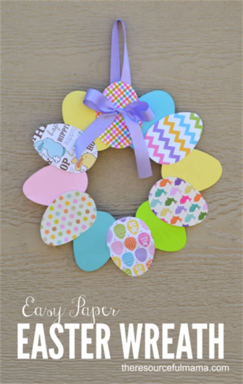 Paper Crafts For Seniors - 12 adorable paper plate easter crafts