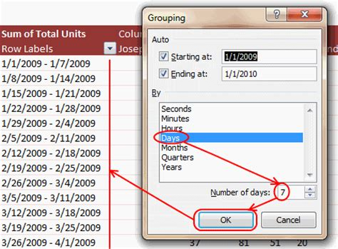 Excel Pivot Table By Month by Grouping Dates In Pivot Tables Show Pivot Reports By