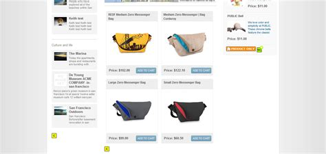 product listing layout style zen cart e commerce website design e commerce web development by
