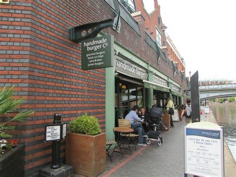 Handmade Burger Company Birmingham - the handmade burger shop at brindley place picture of