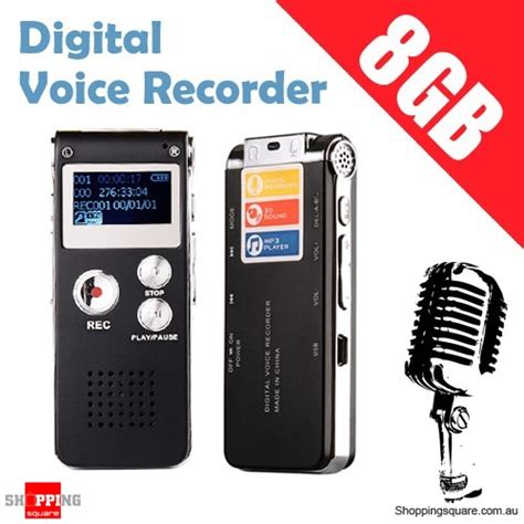 810 8gb Rechargeable Digital Voice Recorder Mp3 With Ti Murah 8gb digital voice recorder mp3 player rechargeable