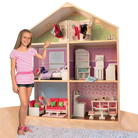 amarican girl doll house assembling the my girls dollhouse 18 house discount doll house
