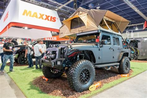 jeep wrangler tent cing wrangler is king custom builds of the road icon