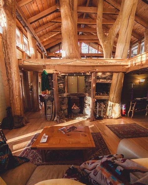 cozy cabinfor winter