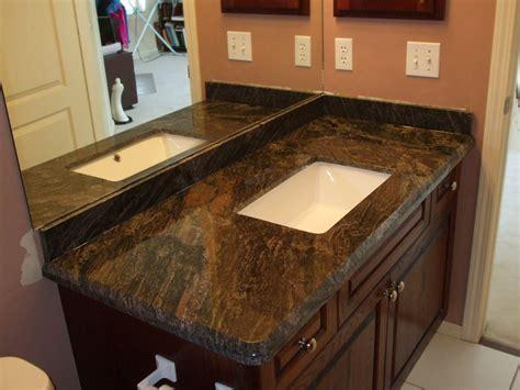 Modern Kitchen With Brown Granite Countertops ? Saura V