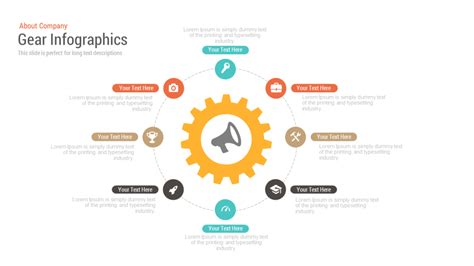the key elements of great services car gear infographics free powerpoint and keynote template