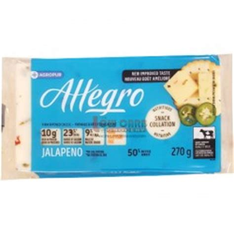 Allegro Clean Detox by Allegro Lactose Free 9 Cheese
