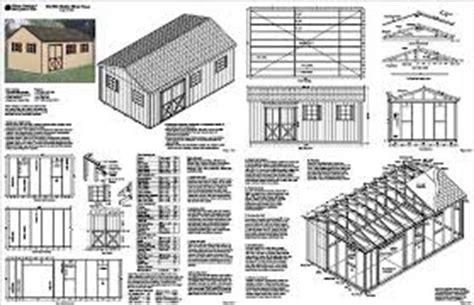 how to build storage building plans 14x20 pdf plans