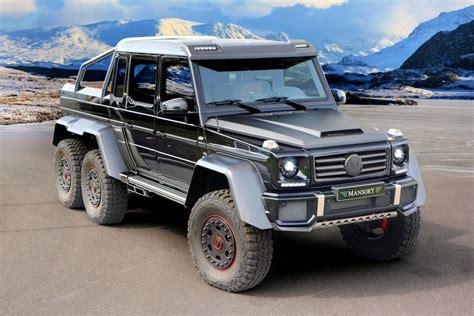 Infiniti Auto Gel Ndewagen by Extrem Tuning Mansory Mercedes G 63 Amg 6x6 Autozeitung De