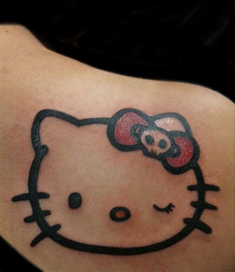 hello kitty tattoo on wrist best 25 tattoos ideas on cat tattoos