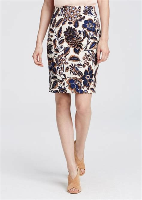 floral pencil skirt skirts shop it to me