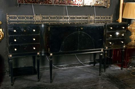 black dining room buffet black lacquer 1940 s dining room buffet at 1stdibs