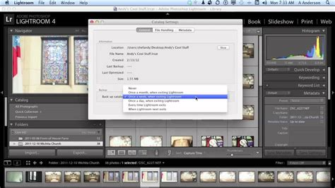 tutorial adobe photoshop lightroom 6 adobe photoshop lightroom 4 tutorial catalog settings