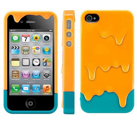 iphone 3d 3d melt printed for apple iphone 4s 5s back cover cuteglossy ebay