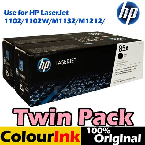 Toner Original Hp Laserjet P1102 hp ce285ad dual pack original 85a p1102 m1132 m1212 hp mono laserjet printer toner hp