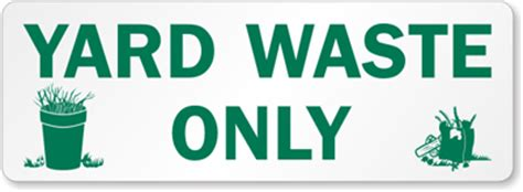 Yard Waste Stickers