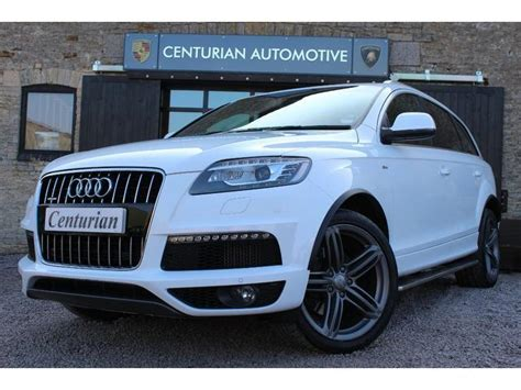 used audi q7 2009 white colour diesel 3 0 tdi 245 quattro