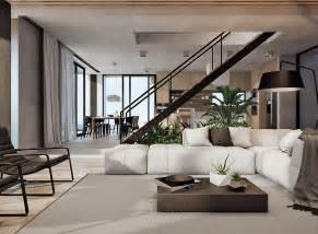 the interior maximizes its exposure to the gorgeous landscape with an new home interior design ideas