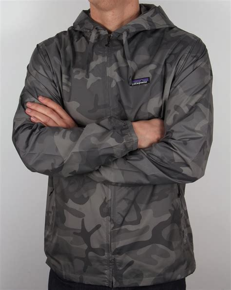 patagonia light and variable patagonia light and variable hooded jacket forge grey camo