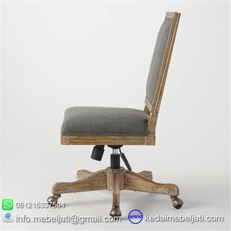 Kursi Kayu Kantor beli kursi kantor minimalis bahan kayu jati jepara