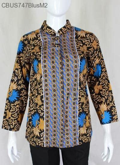 Blus Kembang Murah sarimbit blus katun kembang teratai blus lengan panjang murah batikunik