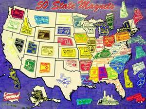 magnetic us map for rv us state magnets let s go on a road trip