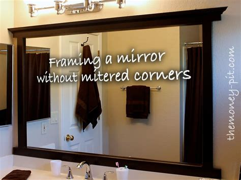 new bathroom mirrors diy frame around bathroom mirror diy 400 best shiny new pins images on pinterest craft