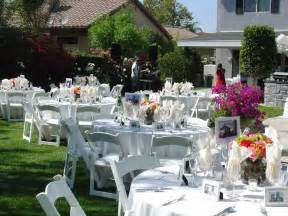 Ideas For Backyard Wedding Wedding Flower Wedding Candles Wedding Decorating Backyard Wedding Ideas Backyard Wedding