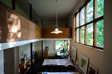 Home Office Interior by The Aalto House Alvar Aalto Archeyes