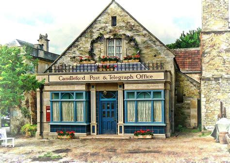 candele ford candleford post office photograph by paul gulliver