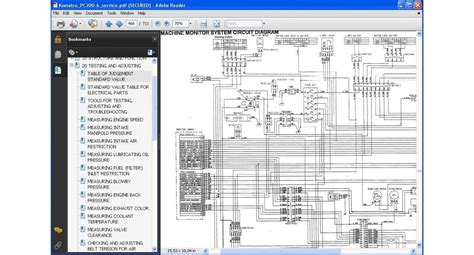 Shop Manual Komatsu Excavator Pc200 8mo komatsu excavator pc200 6 series service repair manual