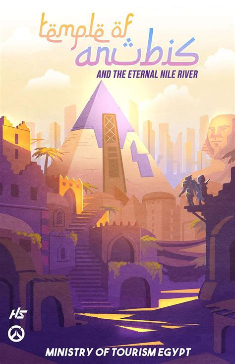 Poster Overwatch 11 overwatch travel posters