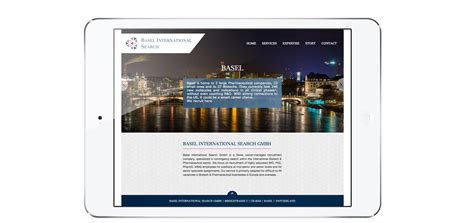 International Search Website Iweb Portfolio Basel International Search