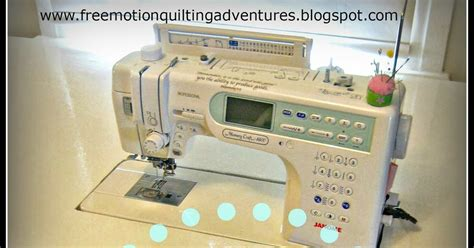 Free Motion Quilting Sewing Machine by S Free Motion Quilting Adventures How To Make A