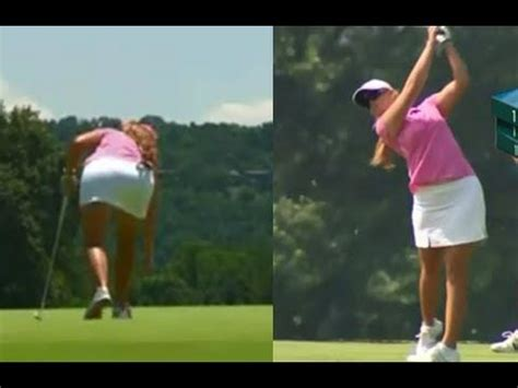 nice golf swing 48 best images about pro women golfers swing videos on
