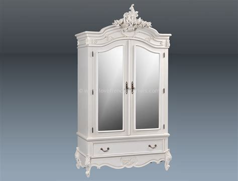armoire mirrored louis mirrored double armoire