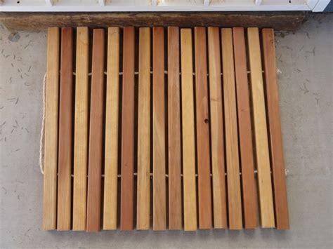 Wooden Door Mat by Wooden Door Mat For The Home