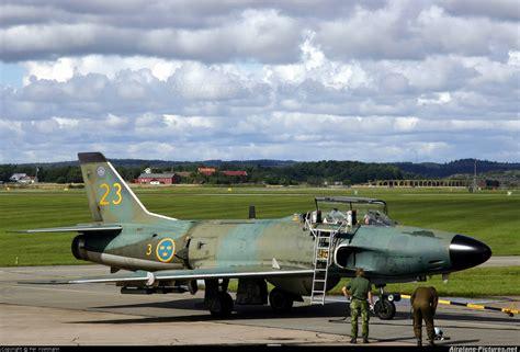 32542 sweden air saab j 32 lansen at g 246 teborg