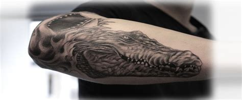 tribal crocodile tattoo 5 terrific crocodile designs style presso
