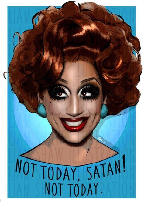 Bianca Del Rio Meme - not today satan not today bianca del rio by