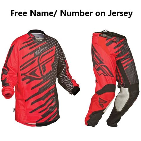motocross gear closeouts closeout fly kinetic shock gear set black pro