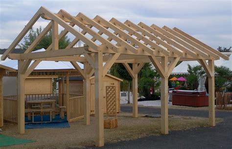Comment Construire Un Carport Plan by Comment Construire Un Carport Bois