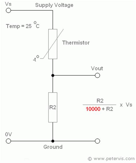 ntc thermistor circuit design image gallery thermistor circuit