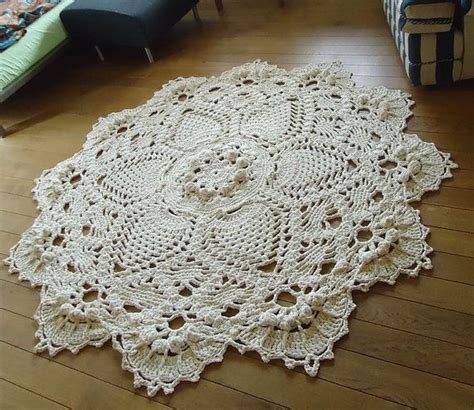 carpet crochet rug 25 best ideas about doily rug on crochet